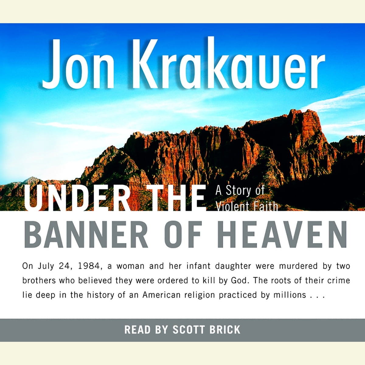 under the banner of heaven epub